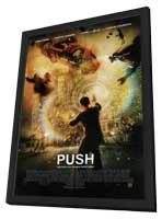Push - 11 x 17 Movie Poster - Style B - in Deluxe Wood Frame