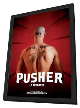Pusher 3 - 11 x 17 Movie Poster - French Style A - in Deluxe Wood Frame
