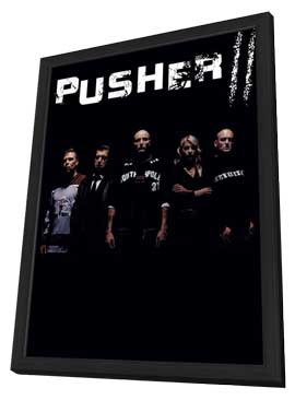 Pusher - 27 x 40 Movie Poster - Style A - in Deluxe Wood Frame