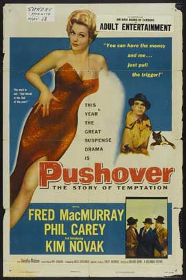 Pushover - 11 x 17 Movie Poster - Style B