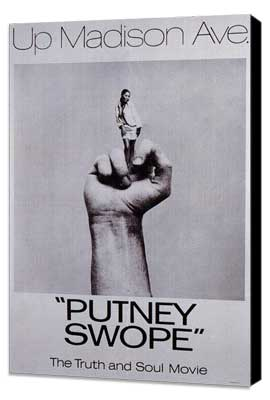 Putney Swope - 27 x 40 Movie Poster - Style A - Museum Wrapped Canvas