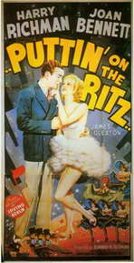 Puttin' on the Ritz - 11 x 17 Movie Poster - Style A