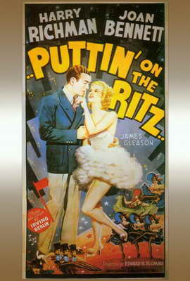 Puttin' on the Ritz - 14 x 36 Movie Poster - Insert Style A