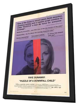 Puzzle of a Downfall Child - 11 x 17 Movie Poster - Style A - in Deluxe Wood Frame