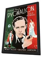 Pygmalion - 11 x 17 Movie Poster - Style B - in Deluxe Wood Frame