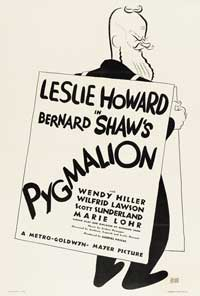 Pygmalion - 27 x 40 Movie Poster - Style A