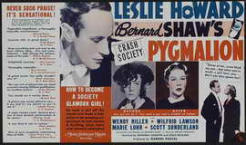 Pygmalion - 11 x 17 Movie Poster - Style D
