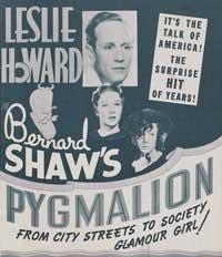 Pygmalion - 11 x 17 Movie Poster - Style E