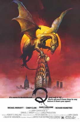 Q (The Winged Serpent) - 11 x 17 Movie Poster - Style A