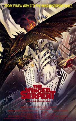 Q (The Winged Serpent) - 11 x 17 Movie Poster - Style B