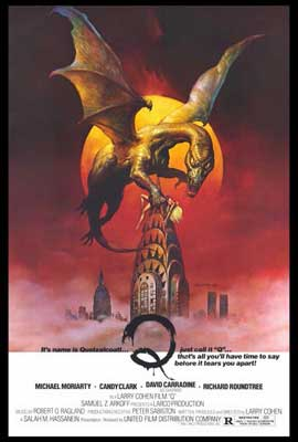Q (The Winged Serpent) - 27 x 40 Movie Poster - Style A