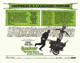 Quackser Fortune Has a Cousin in the Bronx - 11 x 14 Movie Poster - Style A