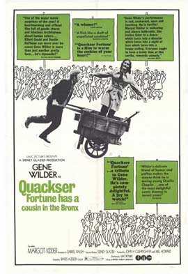 Quackser Fortune Has a Cousin in the Bronx - 11 x 17 Movie Poster - Style A