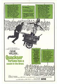 Quackser Fortune Has a Cousin in the Bronx - 27 x 40 Movie Poster - Style A