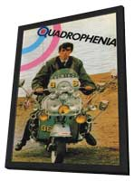 Quadrophenia - 11 x 17 Movie Poster - Spanish Style A - in Deluxe Wood Frame