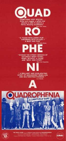 Quadrophenia - 11 x 17 Movie Poster - Style B