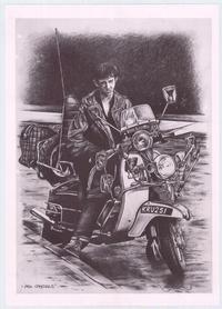 Quadrophenia - Art Print - 12.5 x 17.5 - Style B