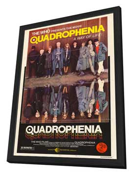 Quadrophenia - 27 x 40 Movie Poster - Style A - in Deluxe Wood Frame