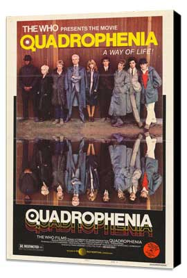 Quadrophenia - 27 x 40 Movie Poster - Style A - Museum Wrapped Canvas
