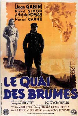 Quai Des Brumes - 11 x 17 Movie Poster - French Style B