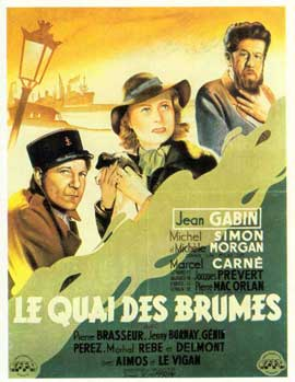 Quai Des Brumes - 11 x 17 Movie Poster - French Style C