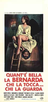 Quant'� bella la Bernarda, tutta nera, tutta calda - 13 x 28 Movie Poster - Italian Style A