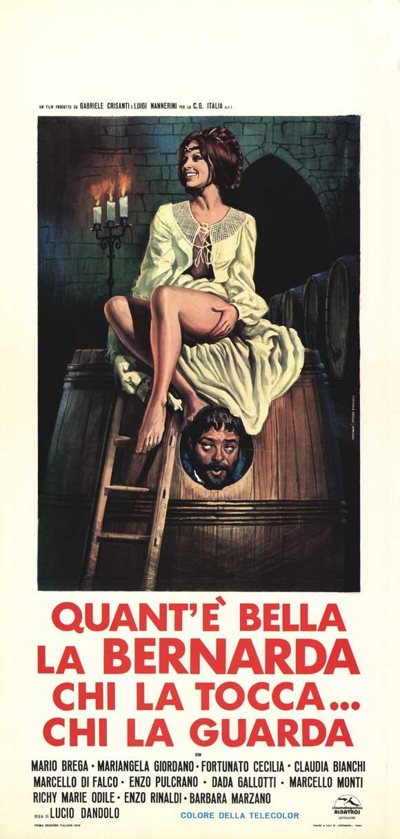 Quant'e bella la Bernarda, tutta nera, tutta calda movie
