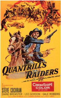 Quantrill's Raiders - 43 x 62 Movie Poster - Bus Shelter Style A