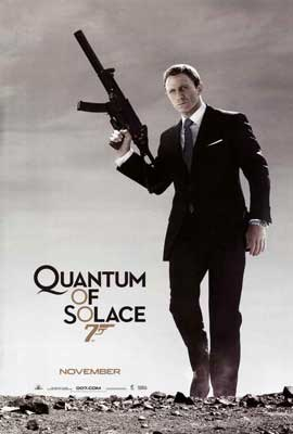 Quantum of Solace - 27 x 40 Movie Poster - Style B