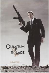Quantum of Solace - 43 x 62 Movie Poster - Bus Shelter Style C