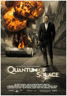 Quantum of Solace - 27 x 40 Movie Poster