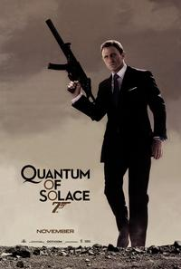 Quantum of Solace - 43 x 62 Movie Poster - Bus Shelter Style D