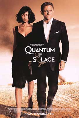 Quantum of Solace - 11 x 17 Movie Poster - Style I