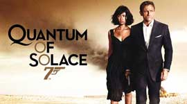Quantum of Solace - 20 x 40 Movie Poster - Style A