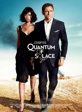 Quantum of Solace - 11 x 17 Movie Poster - French Style B