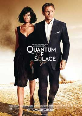 Quantum of Solace - 27 x 40 Movie Poster - Spanish Style A