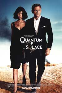 Quantum of Solace - 43 x 62 Movie Poster - Bus Shelter Style B