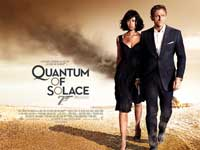 Quantum of Solace - 30 x 40 Movie Poster UK - Style B