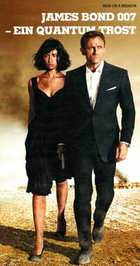Quantum of Solace - 20 x 40 Movie Poster - German Style A