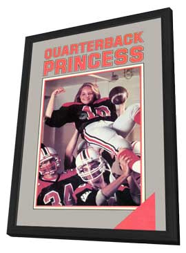 Quarterback Princess - 11 x 17 Movie Poster - Style A - in Deluxe Wood Frame