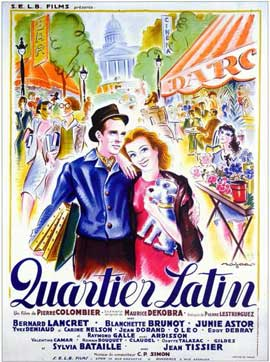 Quartier Latin - 11 x 17 Movie Poster - French Style A