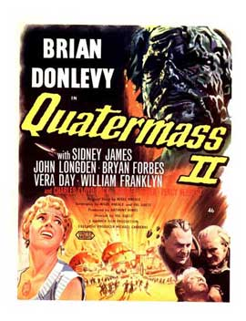 Quatermass 2 - 11 x 17 Movie Poster - Style B
