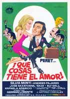 Que cosas tiene el amor - 11 x 17 Movie Poster - Spanish Style A