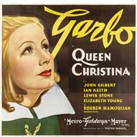 Queen Christina - 40 x 40 - Movie Poster - Style A