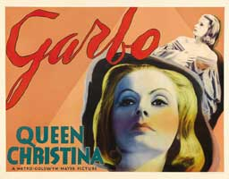 Queen Christina - 30 x 40 Movie Poster UK - Style A
