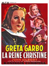 Queen Christina - 11 x 17 Movie Poster - Belgian Style A