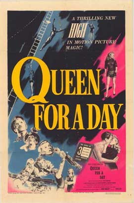 Queen for a Day - 27 x 40 Movie Poster - Style A