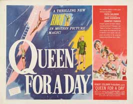 Queen for a Day - 11 x 14 Movie Poster - Style D