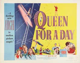 Queen for a Day - 11 x 14 Movie Poster - Style E
