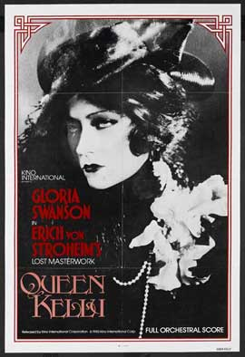 Queen Kelly - 27 x 40 Movie Poster - Style A